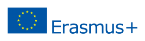 Erasmus Plus logo with flag