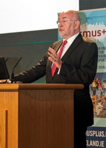 Minister Ruairí Quinn TD launches Erasmus+ in Ireland